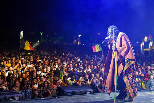 Jamaica's past and present are celebrated on the Main Stage