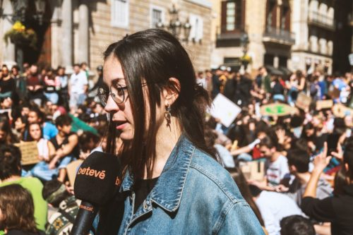 Gemma Barricarte es referente de Fridays for Future España