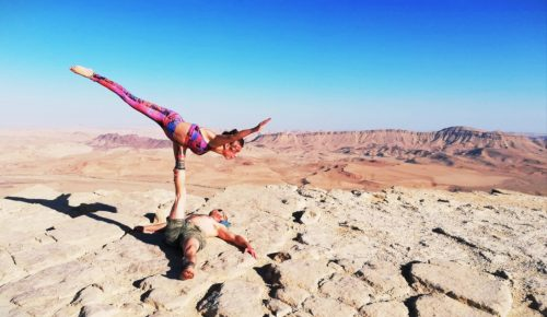Acroyoga Rototom Sunsplash